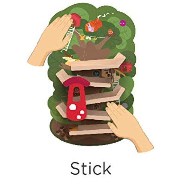 Juguete vertical de pared aventura en el árbol. Ukitu juguetes.