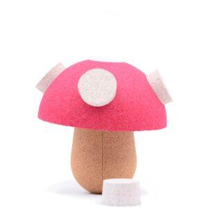 Seta de corcho Funghi-ukitu juguetes