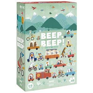 Puzzle beep,beep!. Ukitu juguetes