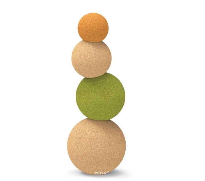 Esferas de corcho de equilibrio bubles- Ukitu juguetes