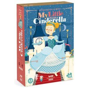 Puzzle cuento clásico Cinderella. Ukitu juguetes