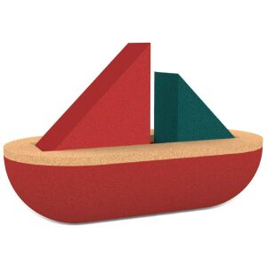 Velero de corcho Sailing boat-ukitu juguetes