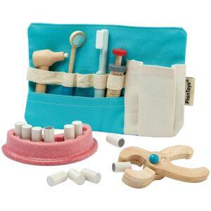 Set de dentista- madera. Ukitu juguetes