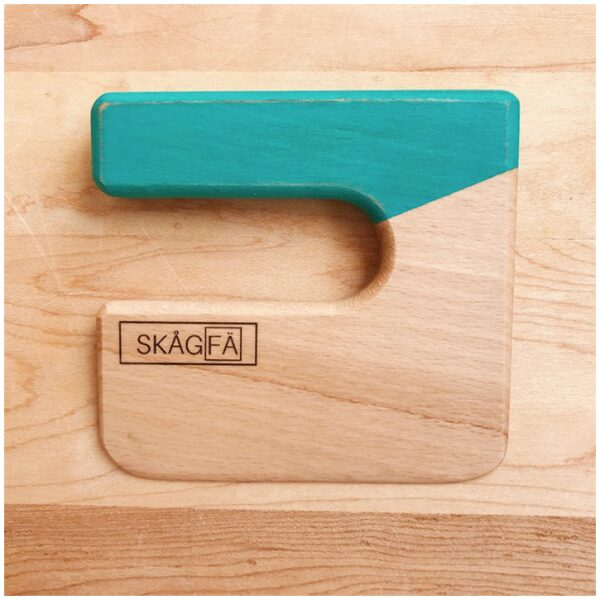 Cuchillo para niños de madera color Agua-ukitu juguetes