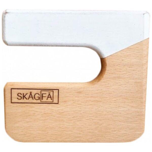 Cuchillo para niños de madera color blanco-ukitu juguetes