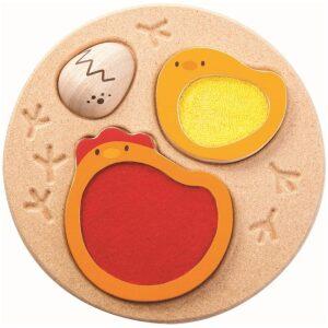 puzzle pollitos- Ukitu juguetes