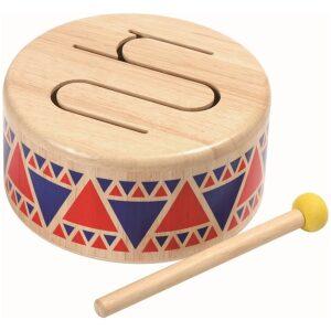 tambor madera-ukitu juguetes