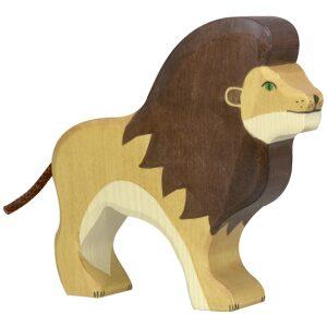 León de madera. Spielgut. Ukitu juguetes