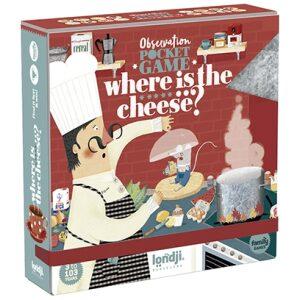 juego de mesa Where is my cheese? (Edición de bolsillo) -Ukitu juguetes