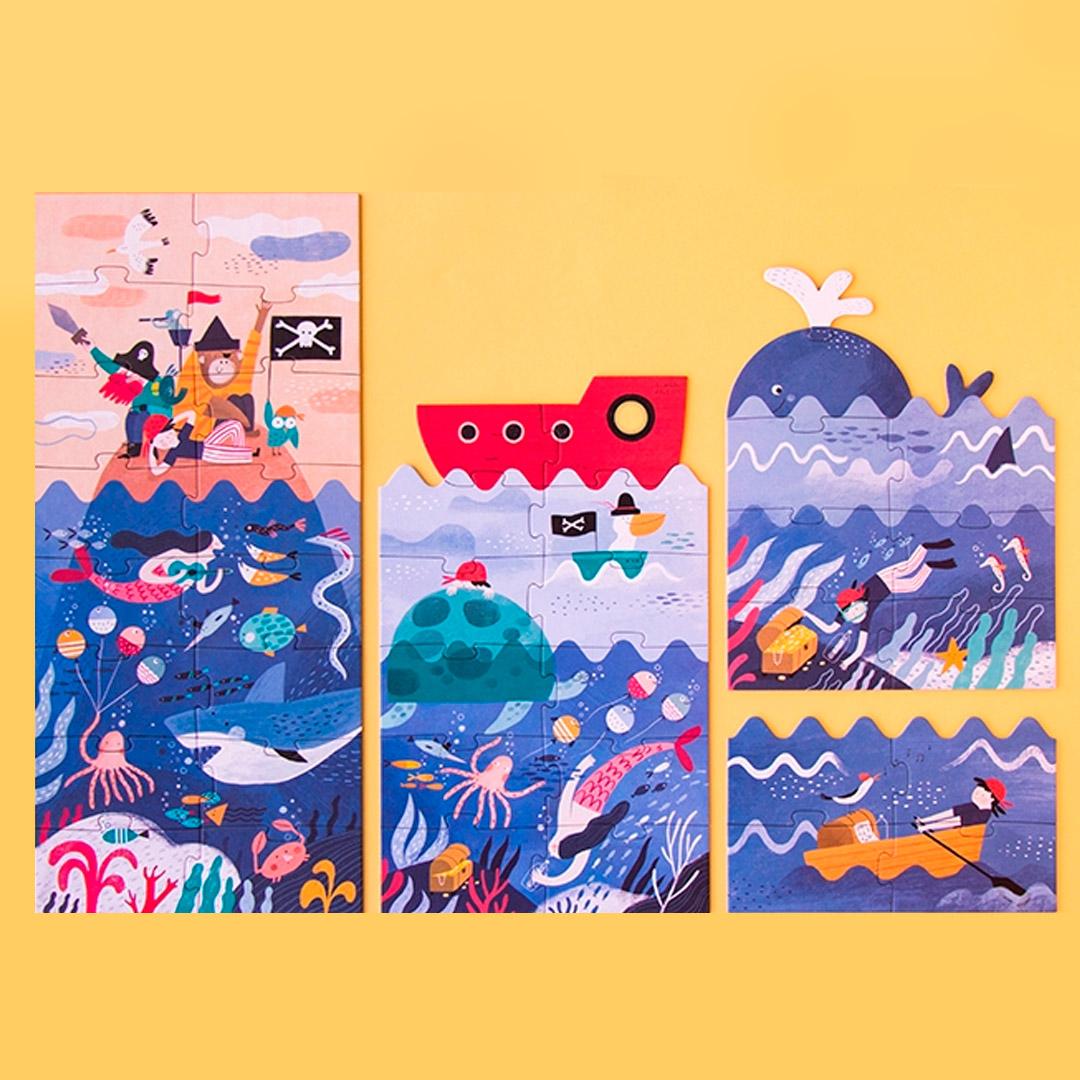 Juguetes de cartón reciclado