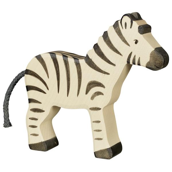 cebra de madera. juguete artesanal. Spielgut. ukitu juguetes