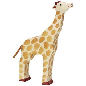 jirafa de madera artesanal. Spielgut. ukitu juguetes