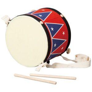 Gran tambor con dos baquetas y correa Ukitu juguetes