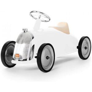 coche RETRO blanco nieve XL CORREPASILLOS UKITU JUGUETES