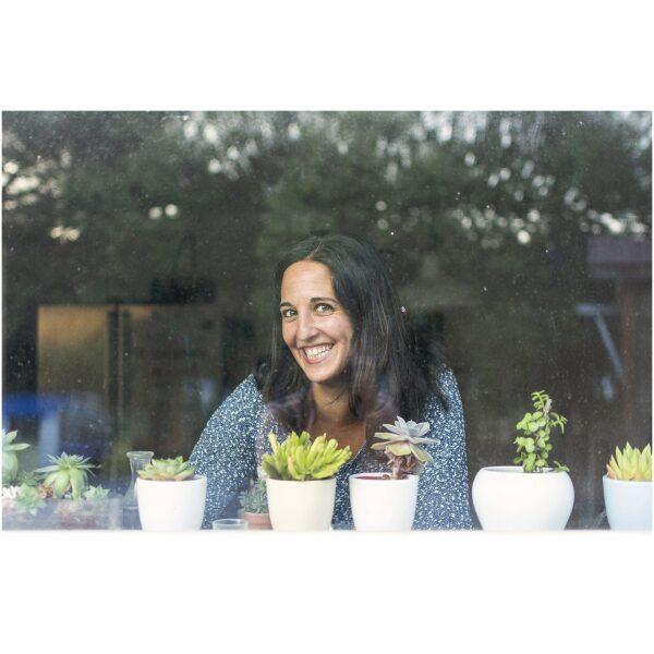 Cristina Saraldi. Escritora de 'CHACHI COMULA DI BU'. 100 JUEGOS DE ANDAR POR CASA. Ukitu juguetes