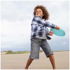 Frisbee y tamiz de arena xl. 2 juegos en 1. Ukitu juguetes