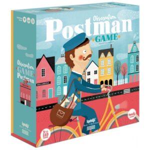 Postman, juego de observación. Juego de mesa para jugar en familia. Ukitu juguetes